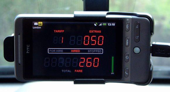 Современный таксометр с GPS-трекером